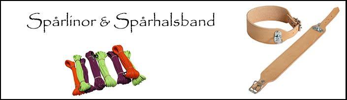 Spårlinor & Spårhalsband