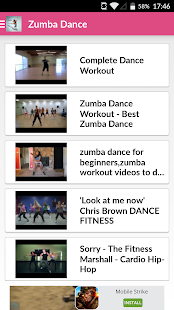 Dance Workout For Zumba Screenshot Thumbnail