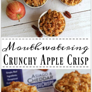 Mouthwatering Crunchy Apple Crisp