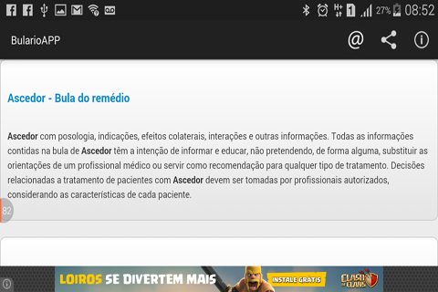 Bulu00e1rio APP  screenshots 2