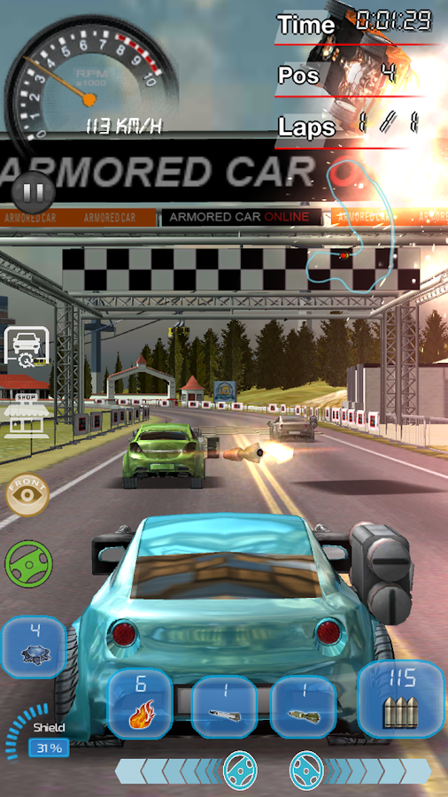 Armored Car Online- screenshot