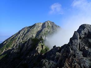 2645mピークから五龍岳山頂