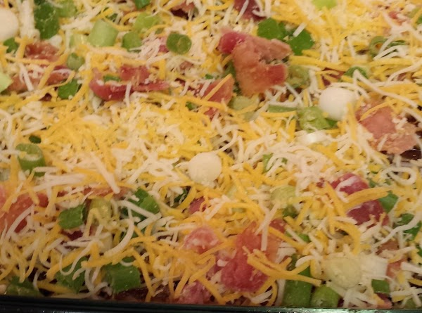 Return the casserole to the oven and bake for 15 minutes or until chicken...