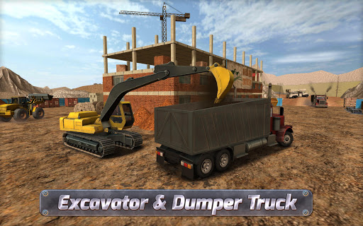 Construction Sim 2017  captures d'u00e9cran 2