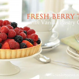 Fresh Berry Tart with Vanilla Pastry Cream