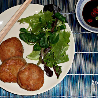 Asian-style Fish Burgers.
