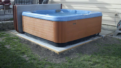 Photo: We love it! Much easier and less expensive than concrete. Thank you for your quality product.  T. Anderson