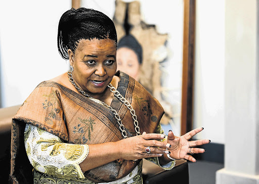 Minister of Environmental Affairs' Edna Molewa.