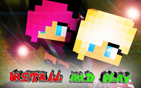 Girls skins for Minecraft - náhled