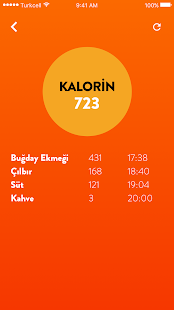 Kalorin - Kalori Hesaplama - náhled