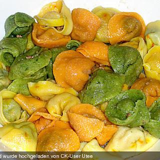 Tortellini Ripieni Di Mozzarella E Spinaci