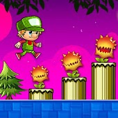 Super Adventure Platform Game World