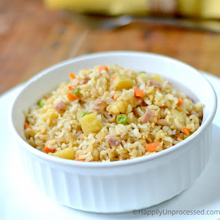 Hawaiian Pineapple Fried Rice Recipe
