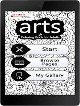 arts Coloring Book for Adults - screenshot thumbnail 02