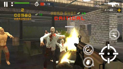 Dead Zombie Battle : Zombie Defense Warfare  screenshots 7