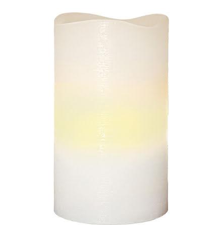 Vaxljus Våg Vit LED