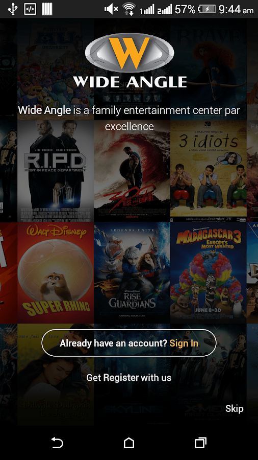 Wide Angle Multiplex- screenshot