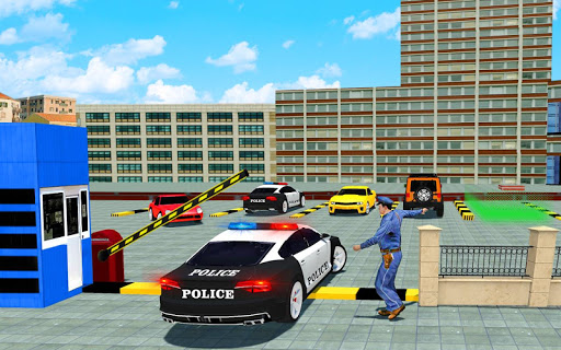 Police Cop Spooky Stunt Parking: Car Drive Parking filehippodl screenshot 2
