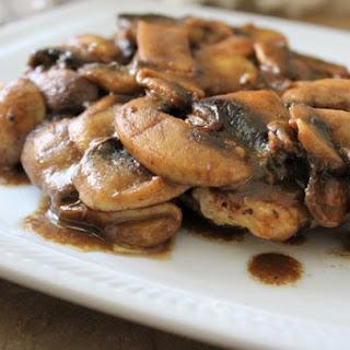 Chicken with Balsamic Mushrooms.