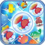 Fish Three Matching Icon