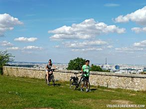Photo: l'Observatoire de Meudon par  veloiledefrance.com