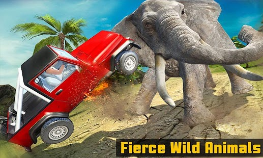 Safari Animal Offroad Jeep Escape Survival Mission - náhled