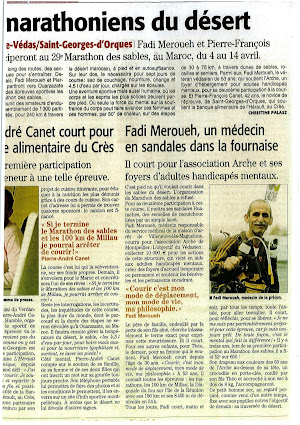 article-marathon-des-sables-fadi-meroueh-l-arche-a-montpellier-midi-libre-3-avril-2014