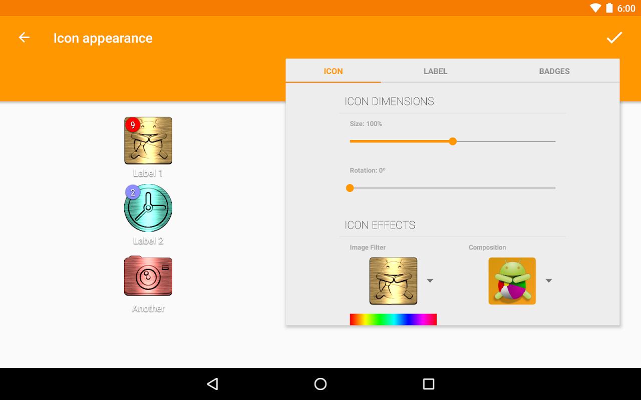 ADW Launcher 2 screenshots