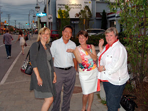 Photo: Lindsay Fraser, Michael Khaw (RVC MP), Diane Green (NRC), Cathy Godin
