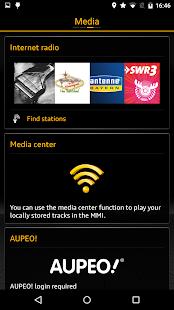 Audi MMI connect- screenshot thumbnail