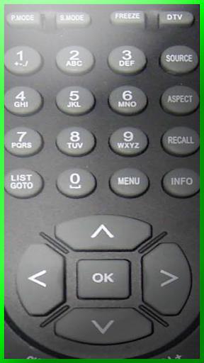 TV remote control Universals