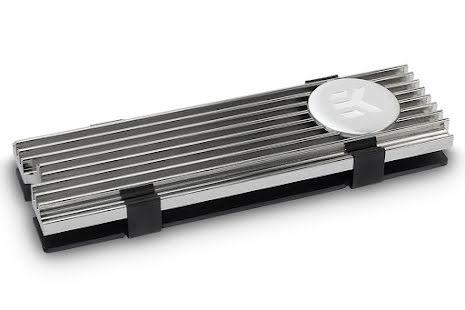 EK kjøleribbe for M.2 NVMe disker, EK-M.2 NVMe Heatsink - Nickel