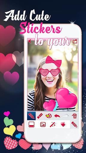バレンタインデー フォトフレーム|玩個人化App免費|玩APPs