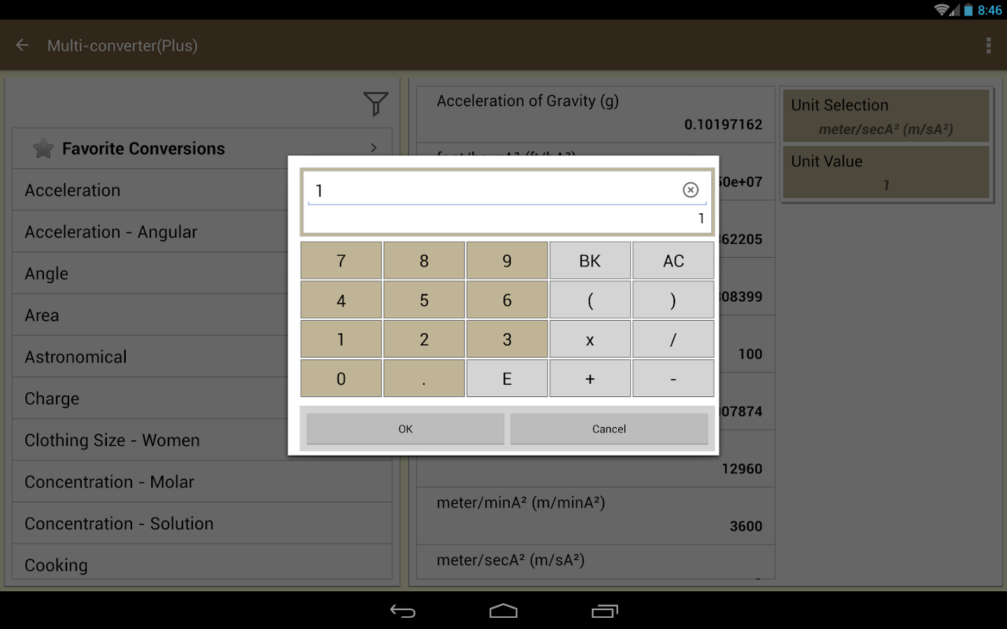 MultiConverter-Unit Converter- screenshot