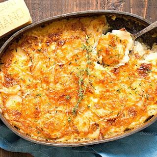 Garlic Parmesan Au Gratin Potatoes Recipe