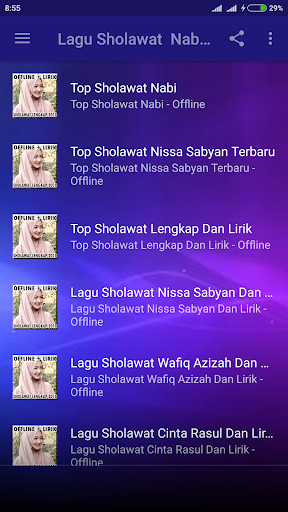 Lagu Sholawat Terbaru 2018 Offline 1.0 screenshots 1