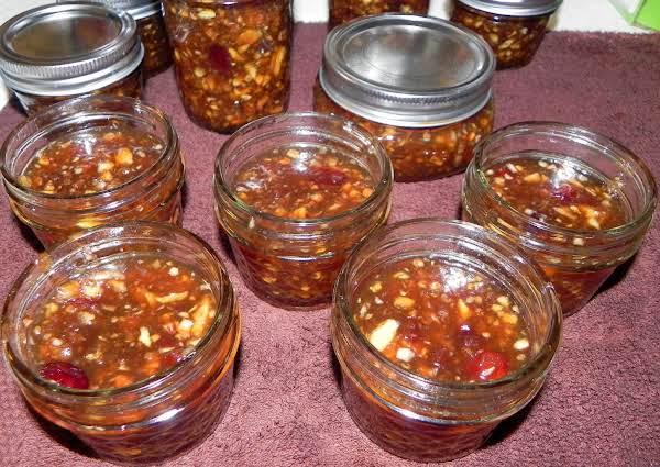 Apple Cranberry Conserve Recipe