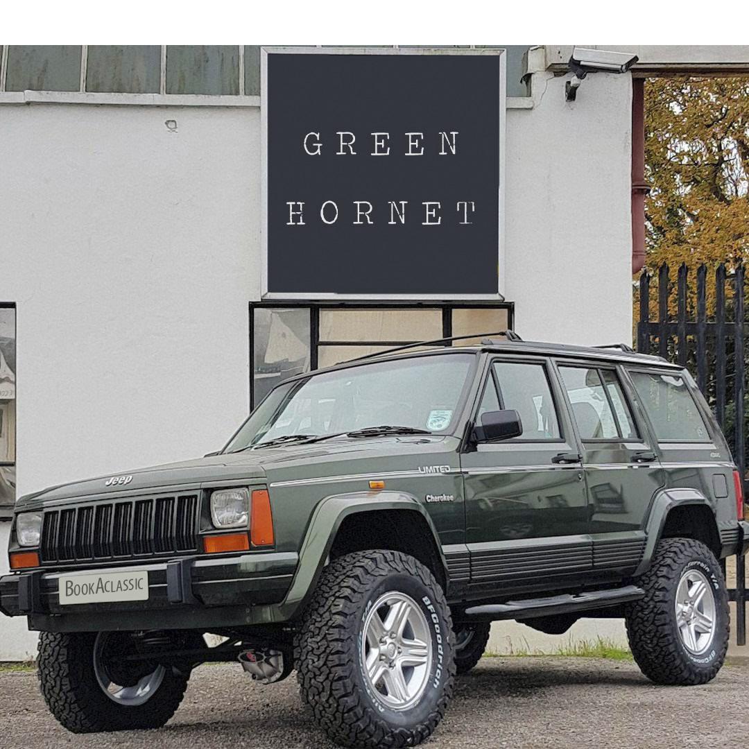 Jeep Cherokee Xj Hire Bolton