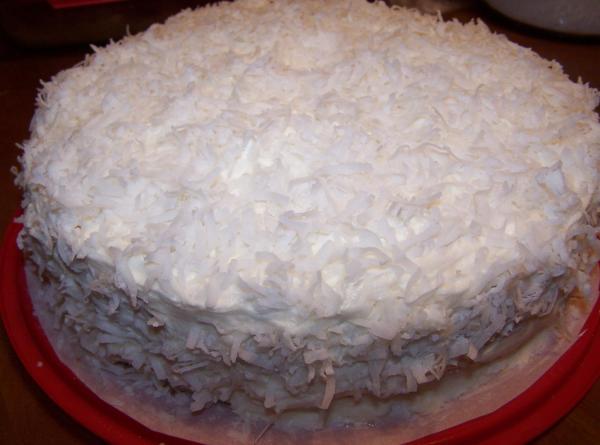 Old Fashion Buttermilk Coconut Cake W/buttercream Recipe