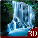 Rain Waterfall 3D Icon