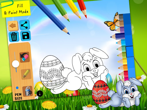 Easter bunny egg coloring book 1.06 screenshots 7