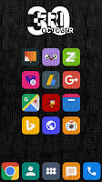Screenshot of Flazing - Icon Pack