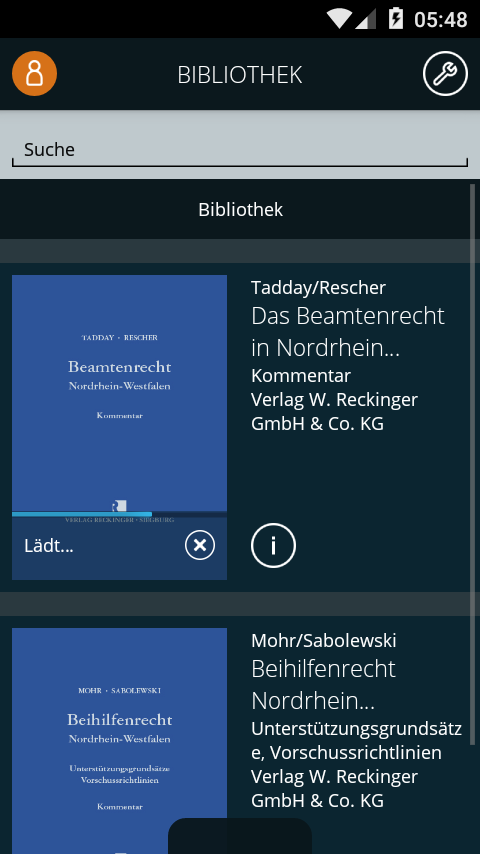 LandesR NRW- screenshot