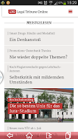 Screenshot of LTO.de - Legal Tribune Online