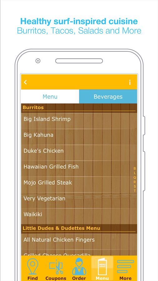 Shaka Burrito Restaurant NYC- screenshot