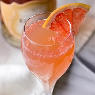 Pink Grapefruit Mimosas