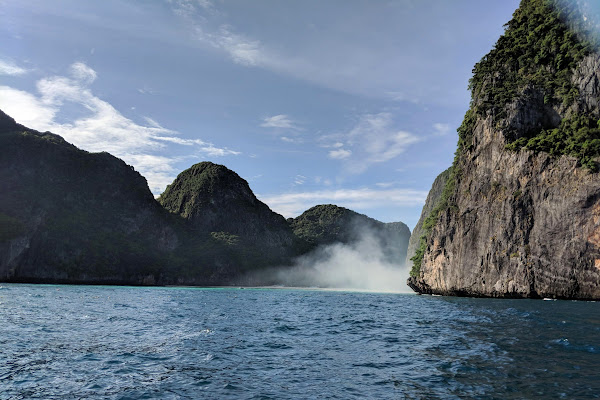 Cruise by speedboat into Maya Bay without anchoring at the beach