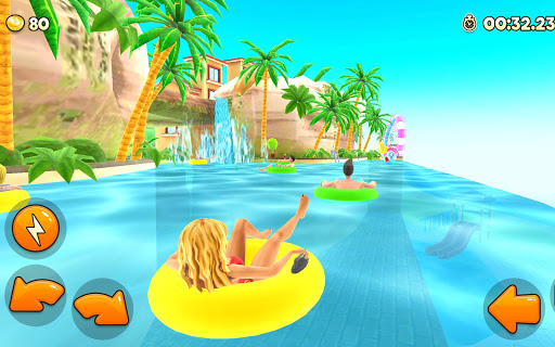 Uphill Rush Water Park Racing android2mod screenshots 6