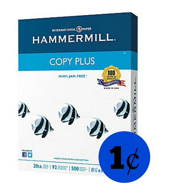 Staples: Ream Of Hammermill Co...