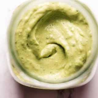 Avocado Cilantro Lime Dressing.
